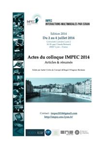IMPEC image actes colloque 2014